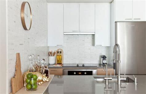 idee cuisine petit espace aménager une cuisine 40 idées pour le design