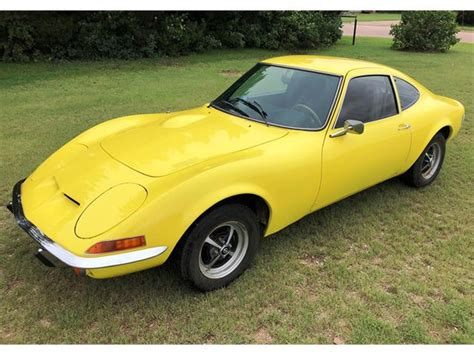 Classic Opel Gt For Sale On Classiccars.com
