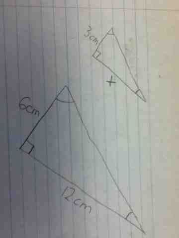 Two triangles are similar if the only difference is size (and possibly the need to turn or flip one around). My Geometry Blog: Unit 1, Day 6: Similar triangles; Angle ...