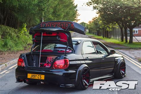 modified subaru modified subaru impreza wrx fast car