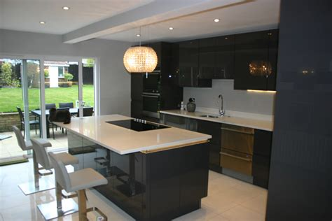 How To Make Kitchen Island From Cabinets by Kitchen Case Study Wallington Surrey Blok Designs Ltd