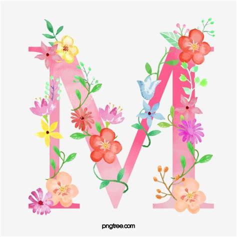 flores letra  carta  flor imagem png  psd   gratuito illuminated letters