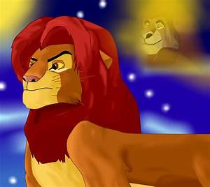 The gallery for --> Lion King Mufasa And Simba Grown Up