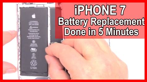 replace  battery   iphone    minutes
