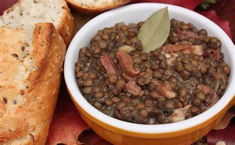 cuisiner canard sauvage echine de porc aux lentilles wecook