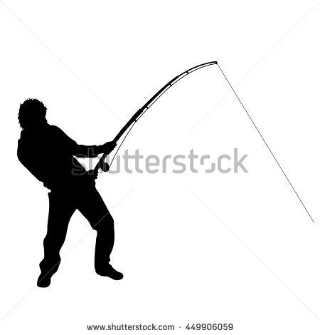 fisherman silhouette vector fishing silhouette stock images royalty free images