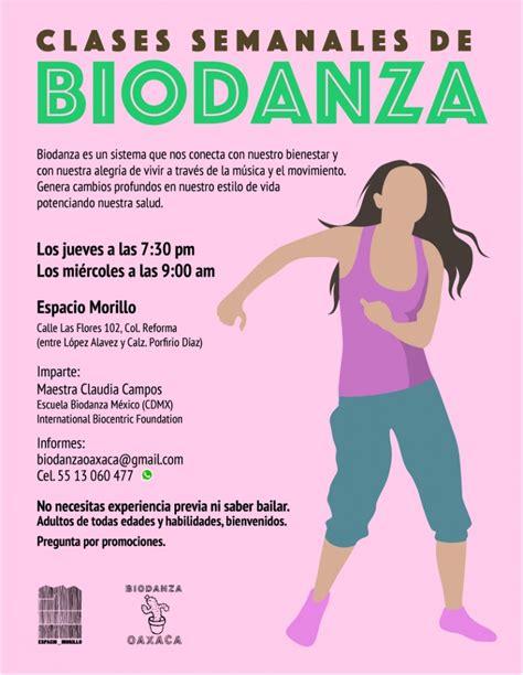 Biodanza 07/11/2019 Oaxaca de Juarez, , Espacio Morillo ...
