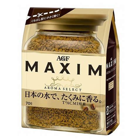 Coffee, creamer, sugar and polyphenol. AGF Maxim instant coffee bag 70g   eBay