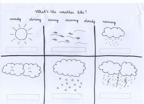 weather preschool kindergarten