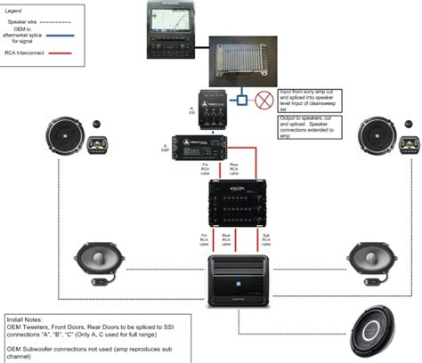 And Subwoofer Wiring Diagram Chevy Truck by Anyone Try This Audio Set Up 2013 S Crew Ford F150