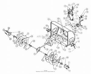 Mtd 317e760f118  1997  Parts Diagram For Blower Housing