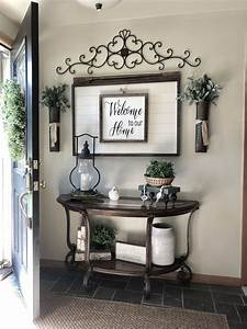 10, Eye-catching, Rustic, Entryway, Table, Ideas