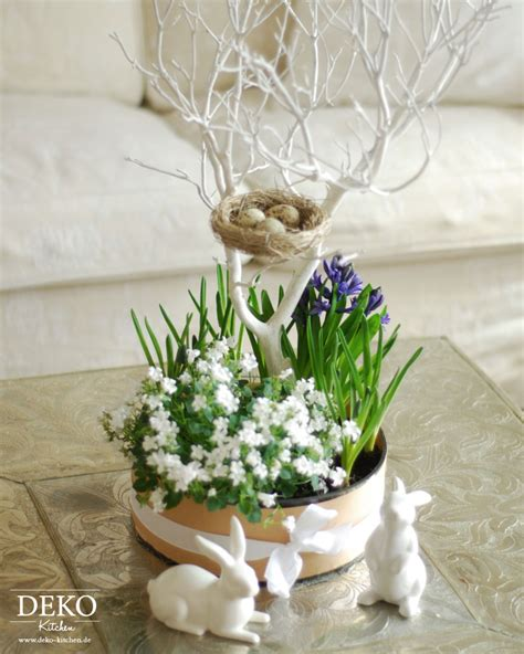 Dekoration Für Ostern by Diy H 252 Bsche Blumendeko F 252 R Ostern Selber Machen Deko