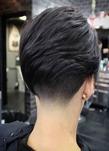 Pure Black Natural Hair Color Ideas For Short Hairstyles