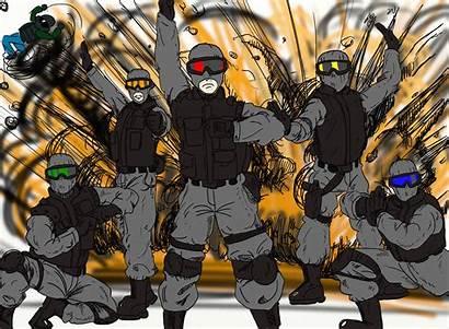 Recruit Siege Rainbow Six Memes Rangers Meme