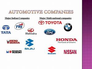 Ppt on automobile industry