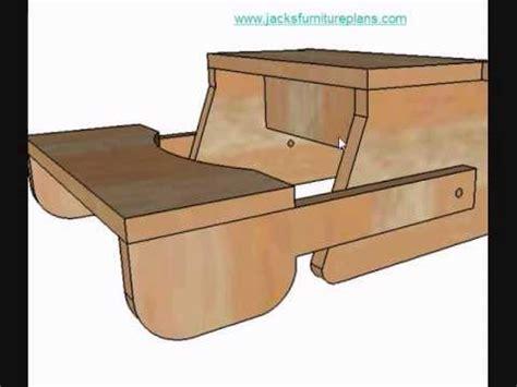 Simple Wood Folding Chair Plans
