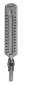 Pasco 1445 Straight Hot Water Thermometer   FaucetDepot.com