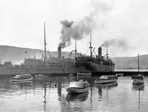 Boat Accident Imperial Beach by Nz Troopships At Wellington October 1914 Nzhistory New