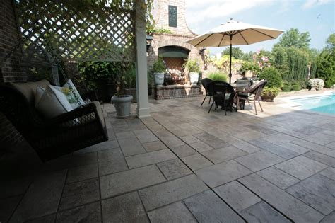 Concrete Patio Design Sundek Concrete Coatings And