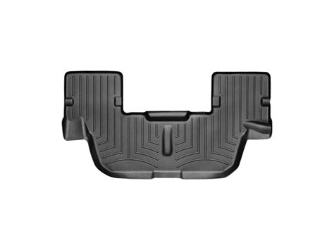 weathertech floor mats explorer weathertech floor mats floorliner for ford explorer w 3rd row 2015 2016 black ebay