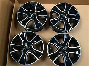 Jante Renault Clio 4 : 4 jantes alu passion noir r16 renault clio 4 iv alloy ~ Voncanada.com Idées de Décoration