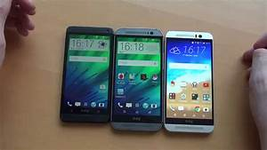 HTC One M9 vs. M8 vs. M7 Vergleich [4K Deutsch] - YouTube