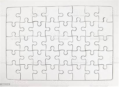 Puzzle Jigsaw Completed Pieces Copy Space Backgrounds