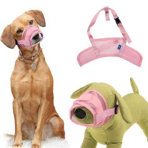 maulkorb soft maulband hunde nylon  groessen beisskorb