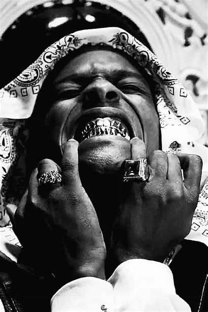 Aesthetic Asap Rocky Badass Rapper Grill Smiling