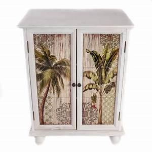 palm trees cabinet globe imports With kitchen cabinets lowes with palm tree metal wall art