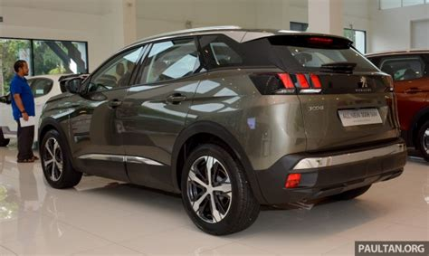 Peugeot Malaysia by 2017 Peugeot 3008 Suv In Malaysia 1 6 Litre Turbo Engine