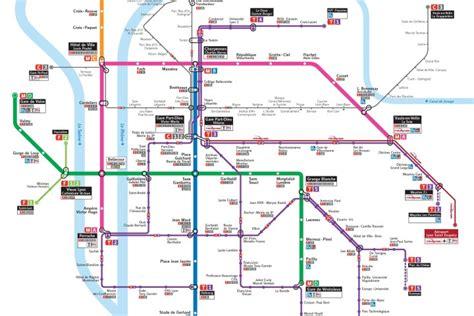 Carte Metro De Pdf by Plan Gratuit M 233 Tro Lyon Pdf 224 T 233 L 233 Charger