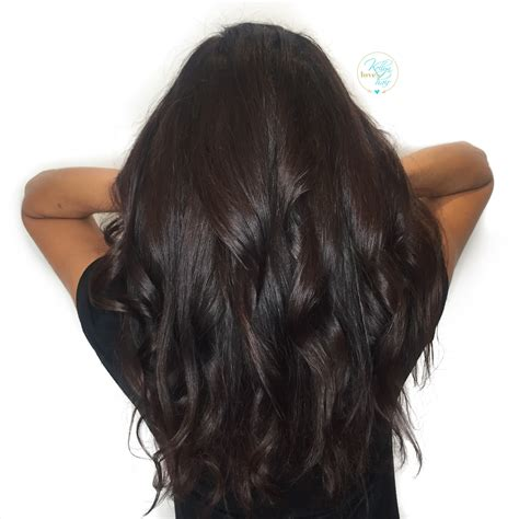Rich Black Hair Color by Rich Chocolate Brown Hair Color By Kellyn At Bow