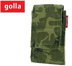 review golla camo washed green vertical pouch  iphone