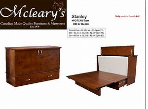 BC Made Cabinet Beds- Stanley Furniture Mattress Store