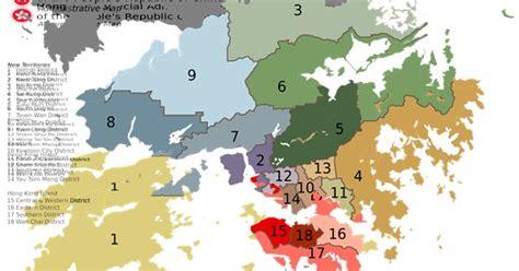 districts  hong kong