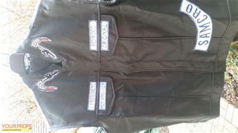 sons of anarchy weste sons of anarchy s o a jax s mc biker vest replica tv