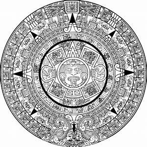 Aztec Calendar Printable   Calendar Template 2016