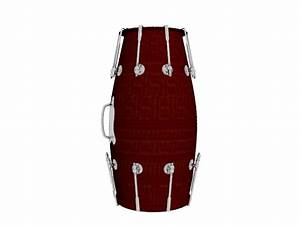 dhol drum 3d model 3dsmax files free download modeling With what kind of paint to use on kitchen cabinets for musical instrument wall art