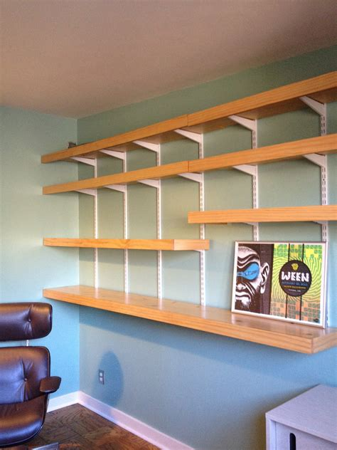 Diy Modern Wall Shelves Mid Century Modern
