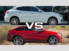 Maserati Levante vs Mercedes GLE Coupe YouTube
