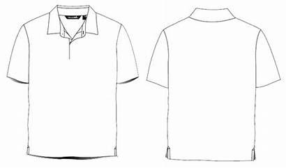 Template Shirt Polo Clipart Plain Poloshirt Psd