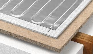 Foil Underfloor Heating System for Wood and Laminate   Warmup