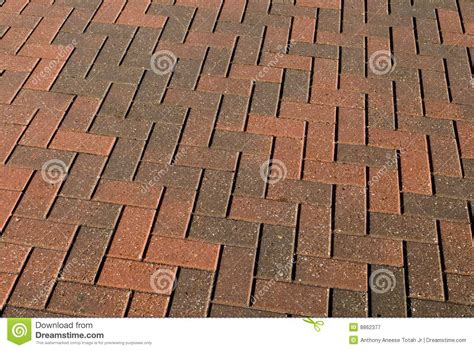 Garden Path Photography by Brick Walkway Pattern Royalty Free Stock Photography
