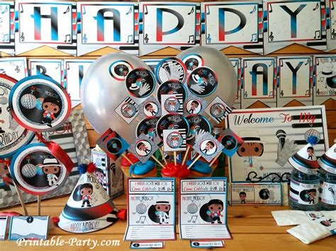 michael birthday decorations inspired by michael jackson birthday decorations