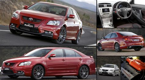 toyota trd aurion  pictures information specs