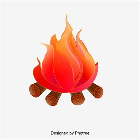 Bonfire Clipart Bonfire Flames Png And Vector For Free