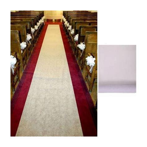 tapis blanc mariage fleurs de drag 233 es