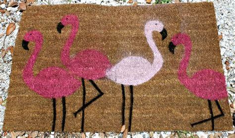 Flamingo Doormat by Do It Yourself Pink Flamingo Doormat I This